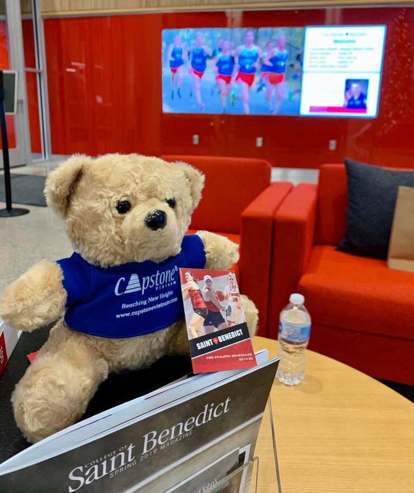 Mời bạn cùng Capstone Bear ghé thăm môi trường học tập NGẮM LÀ MÊ của CSB/SJU xinh đẹp